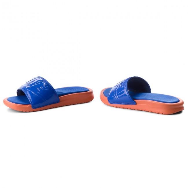 2ccde5d5963a93 Slides NIKE - Benassi Jdi Ultra Se AO2408 800 Vintage Coral Racer Blue