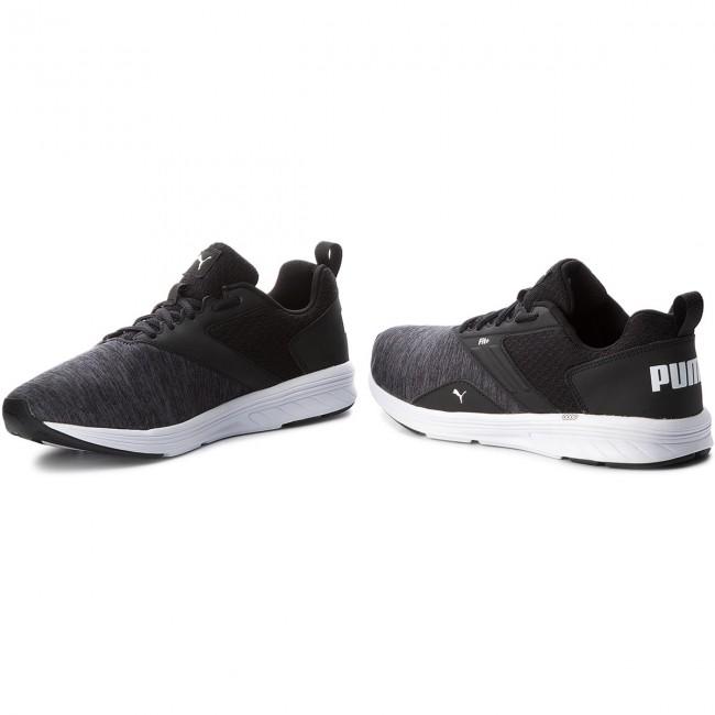 61e353aa8faafc Shoes PUMA - Nrgy Comet 190556 06 Puma Black Puma White - Indoor ...