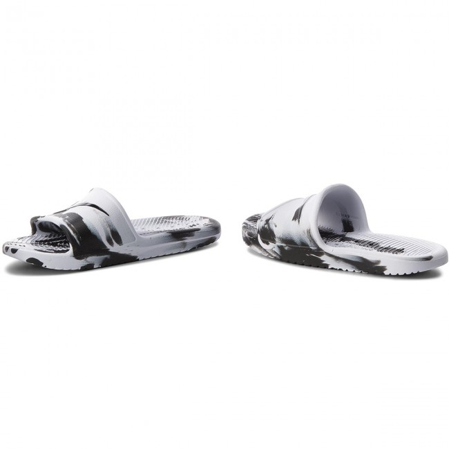 0cf1cb79 Slides NIKE - Kawa Shower Marble AQ0106 100 White/Black/White - Clogs and  mules - Mules and sandals - Men's shoes - efootwear.eu
