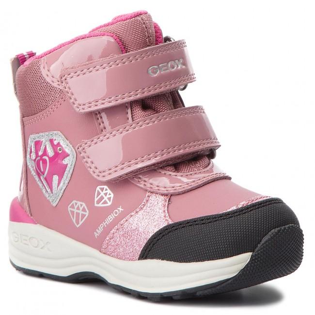 d744af7b2 Snow Boots GEOX - B N. Gulp B.B Abx C B841FC 050HI C8006 M Dk Pink ...