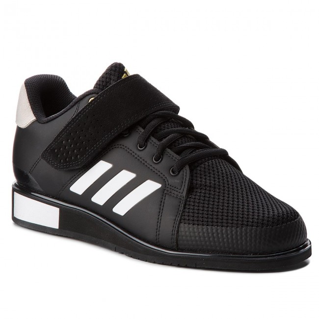 the latest 16178 18721 Shoes adidas. Power Perfect III BB6363 Core Black Ftwr White Matte Gold