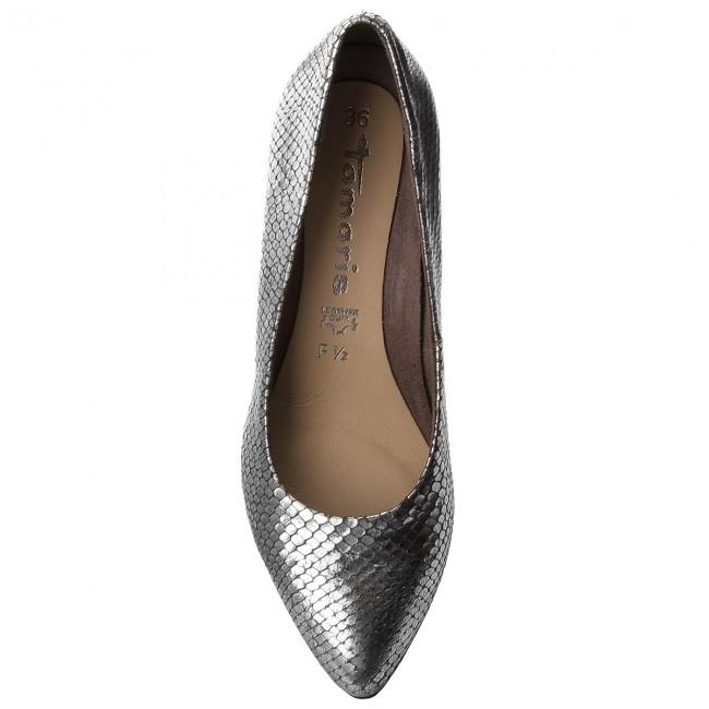 524ca5da2e7b70 Shoes TAMARIS - 1-22405-21 Zinc Structure 907 - Heels - Low shoes - Women s  shoes - www.efootwear.eu