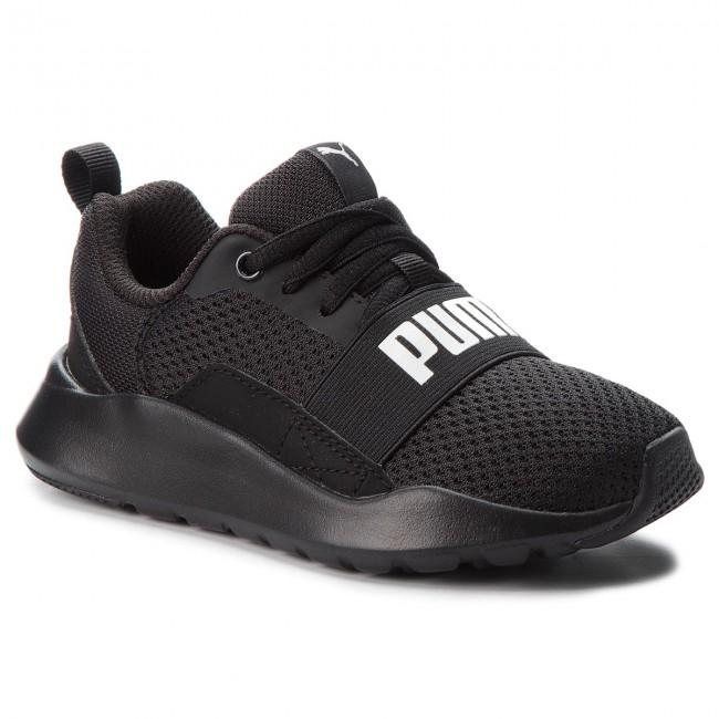 8132e9f788d0 Sneakers PUMA - Wired Ps 366903 01 Puma Black Puma Black Black ...