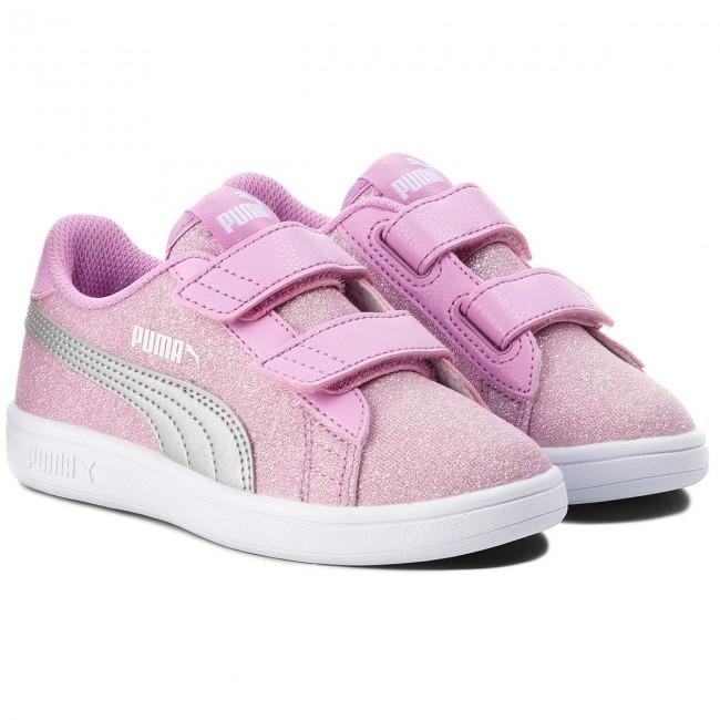 Sneakers PUMA Smash V2 Glitz GlamV Ps 367378 02 OrchidPuma Silver