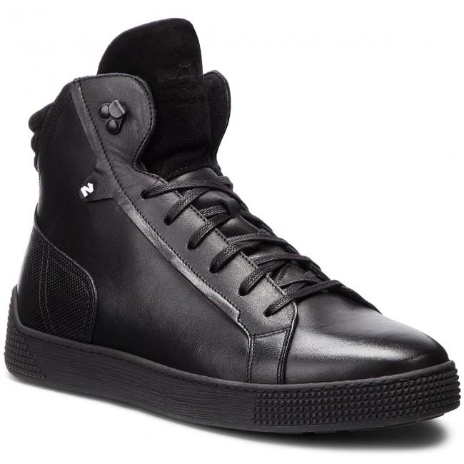 02 0 03 01 Nik Sneakers Lage schoenen 0599 Zwart TKc31lFJu