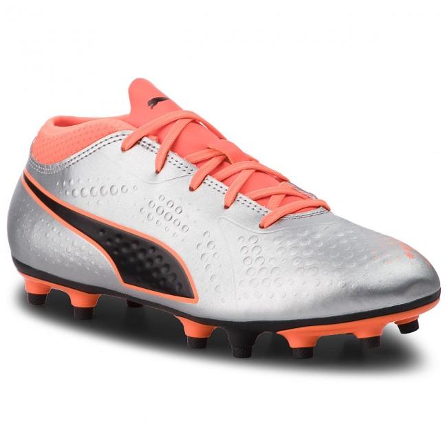 Shoes PUMA - One 4 Syn Fg Jr 104782 11 Silver Orange Black ... cca52e023