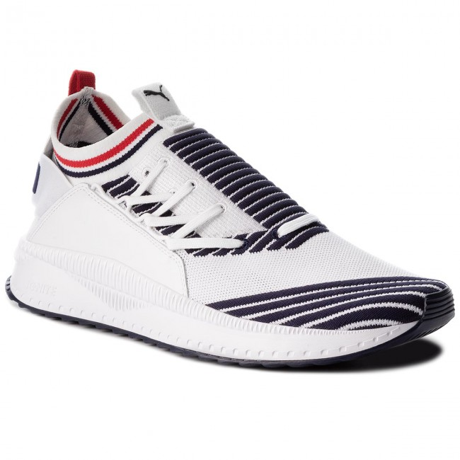1dd46a9eeb8be9 Sneakers PUMA - Tsugi Jun Sport Stripes 367519 01 Pwhite Peacoat ...