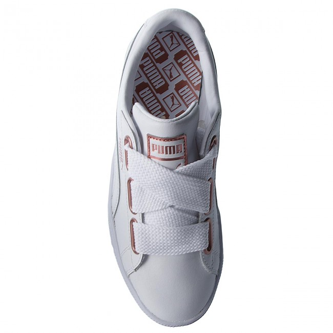 Sneakers PUMA Basket Heart Leather 367817 01 Puma WhiteRose Gold