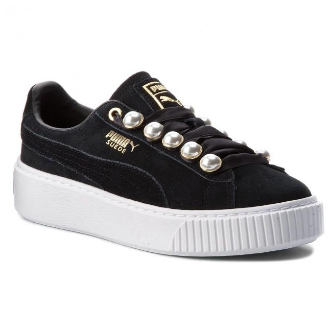 24e9957bac21 Sneakers PUMA - Suede Platform Bling Wn s 366688 01 Puma Black Puma ...