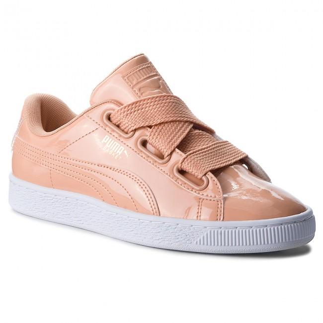 28cd9bafa713e2 Sneakers PUMA - Basket Heart Patent 363073 16 Dusty Coral Dusty Coral
