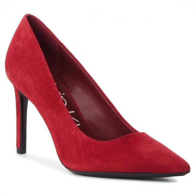 b74e5bbff4 Stilettos CALVIN KLEIN - Roxy E7804 Red Rock - Stilettos - Low shoes ...