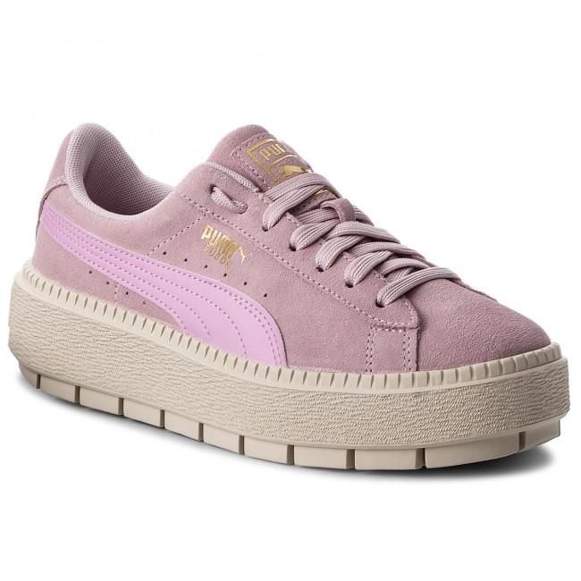 c987d71ca6ce Sneakers PUMA - Suede Platform Trace Jr 366826 02 Winsome Orchid Orchid