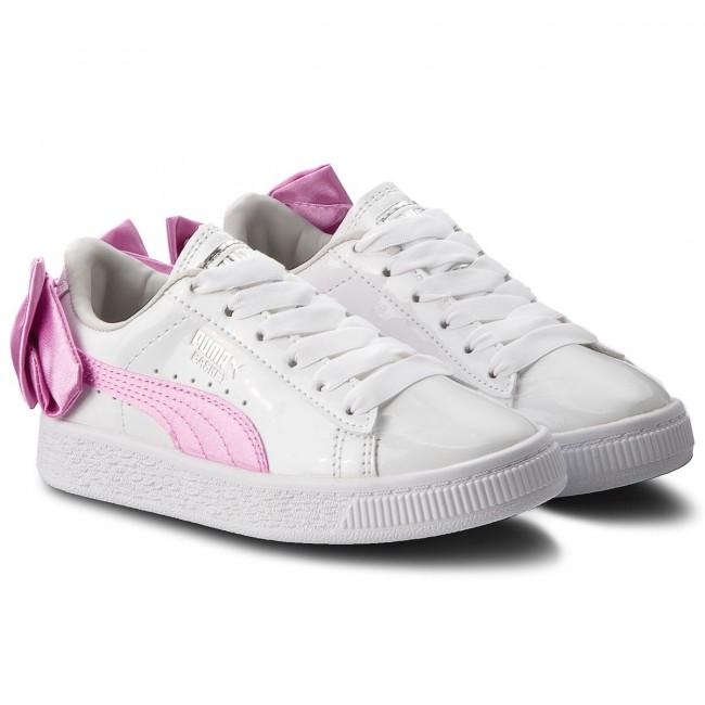 Sneakers PUMA - Basket Bow Patent Ac Ps 367622 02 Puma White Orchid ... 6edbd10efc1