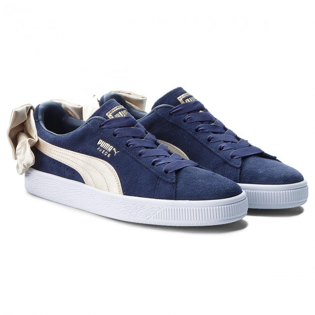 8dcc2a9f5dbe65 Sneakers PUMA - Suede Bow Varsity Wn s 367732 02 Peacoat Metallic Gold -  Sneakers - Low shoes - Women s shoes - www.efootwear.eu