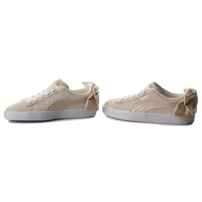 Sneakers PUMA - Suede Bow Varsity Wn s 367732 03 Marshmallow Metallic Gold 2e809ba96