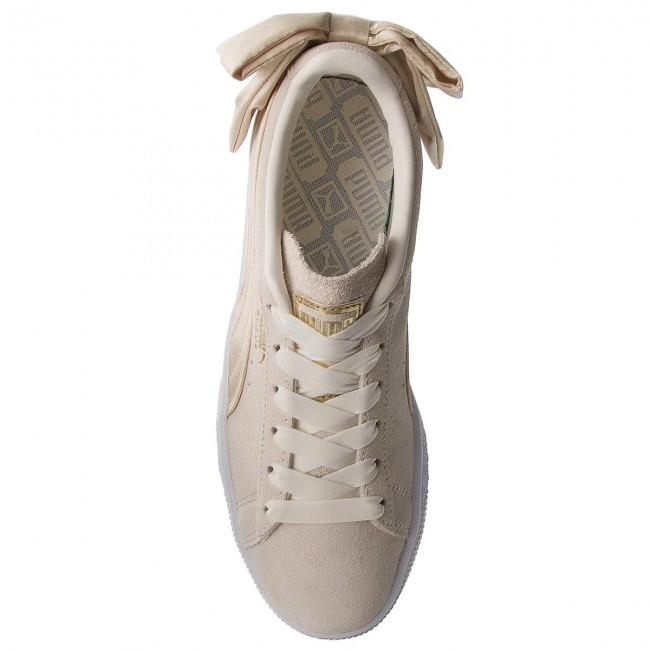 Sneakers PUMA - Suede Bow Varsity Wn s 367732 03 Marshmallow Metallic Gold  - Sneakers - Low shoes - Women s shoes - www.efootwear.eu b19c04ec3