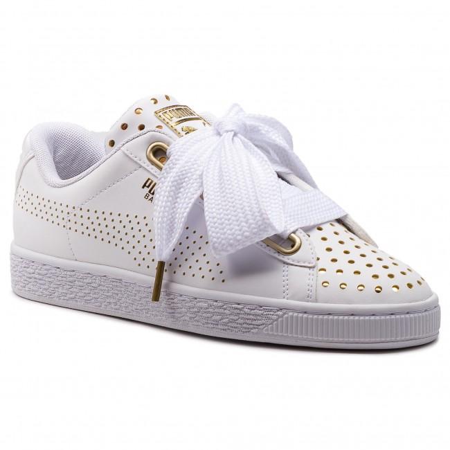 7e3bff0c7b2c Sneakers PUMA - Basket Heart Ath Lux Wn s 366728 01 Puma White Puma White