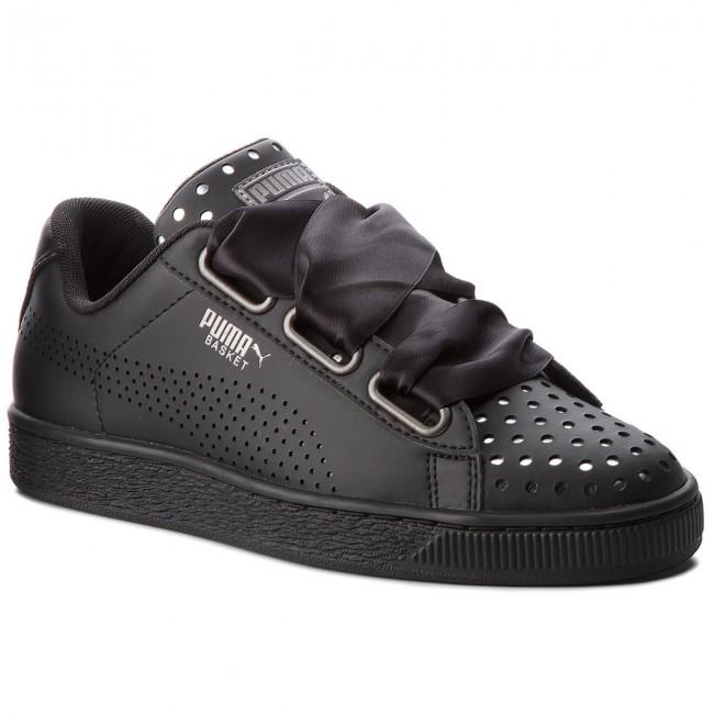 b17d7cdbcaf7 Sneakers PUMA - Basket Heart Ath Lux Wn s 366728 03 Puma Black Puma ...