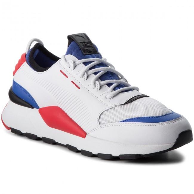1e131b7cd1c64c Sneakers PUMA - RS-0 Sound 366890 01 White DazzBlue HighRiskRed ...