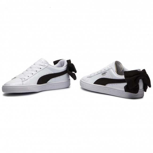 357b70b55209 Sneakers PUMA - Basket Bow Sb Wn s 367353 03 Puma White Puma Black ...