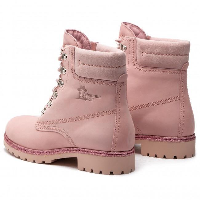 51166cd0b70638 Hiking Boots PANAMA JACK - Panama 03 Glitter B1 Nubuck Rosa Pink ...