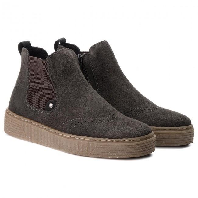 Boots RIEKER 71664 46 Grau