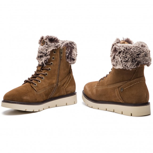 Boots WL182511 29 WRANGLER Lady Tucson Suede Taupe High Boots p7qF0Z