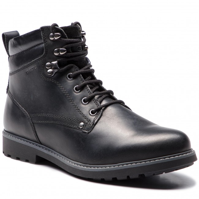 1212bf10 Knee High Boots GEOX - U Norwolk B U84E2B 00045 C9999 Black ...