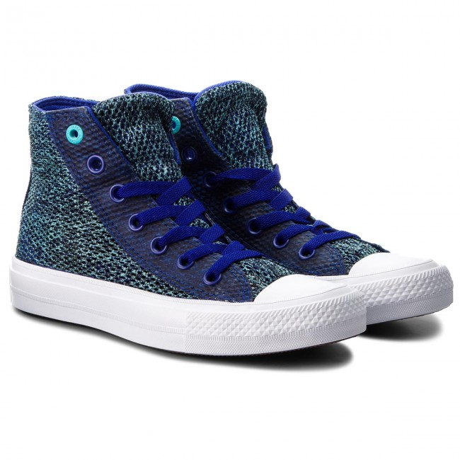 Sneakers CONVERSE Ctas II Hi 155730C True IndigoFresh CyanWhite