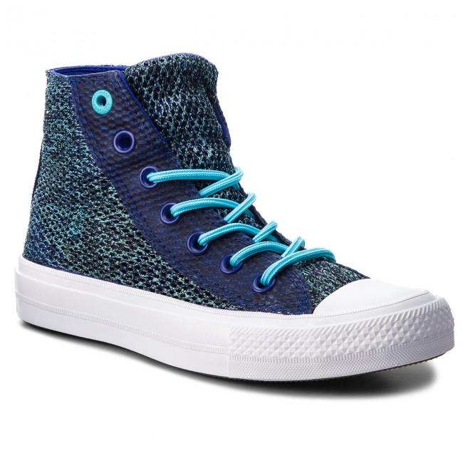 Sneakers Ctas Ii Hi True Cyanwhite 155730c Indigofresh Converse odxeCB
