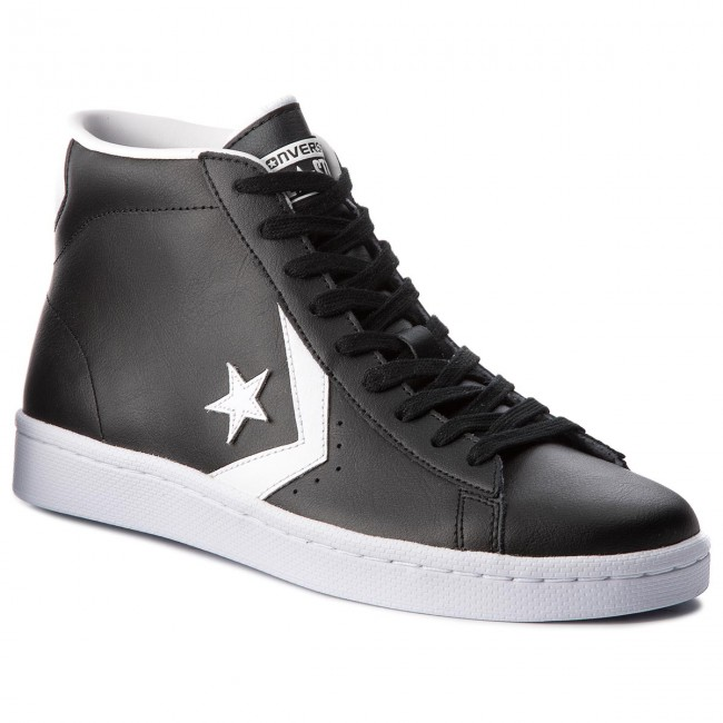 4c23768850db Sneakers CONVERSE - Pro Leather 76 Mid 157717C Black White White ...