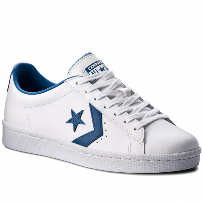 5839890ba16a Sneakers CONVERSE - Pro Leather 76 Ox 157807C White Blue Jay White ...