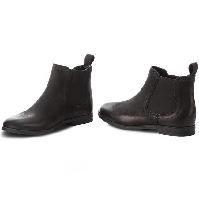 33f98e1a7162 Ankle Boots TAMARIS - 1-25995-21 Black 001 - Elastic-sides - High ...