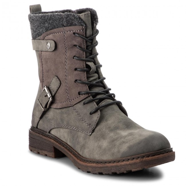 aa045dd8dcb7 Boots RIEKER - 94742-45 Grau - Boots - High boots and others ...