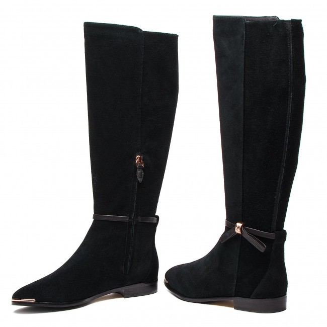 6cec842f03541 Knee High Boots TED BAKER - Lykla 9-17759 Black - Knee-high boots ...