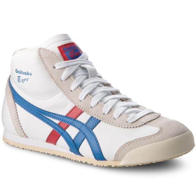 Sneakers ASICS - ONITSUKA TIGER Mexico Mid Runner DL409 White Daphne ... b8b32de3c0eb