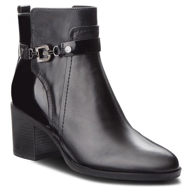 346416d1e02e6 Boots GEOX - D Glynna B D843CB 043BC C9999 Black - Boots - High ...