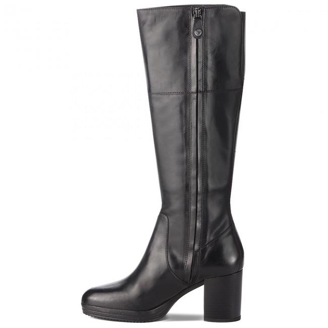 Knee High Boots GEOX D Remigia A D84AFA 000CL C9999 Black