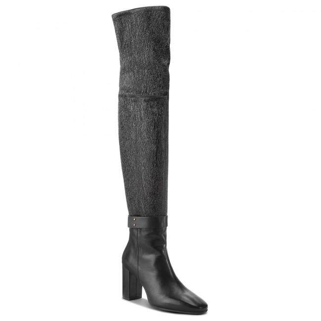 cf02e1f1cef Over-Knee Boots STUART WEITZMAN - Luna 85 YL96047 Black - Musketeer ...