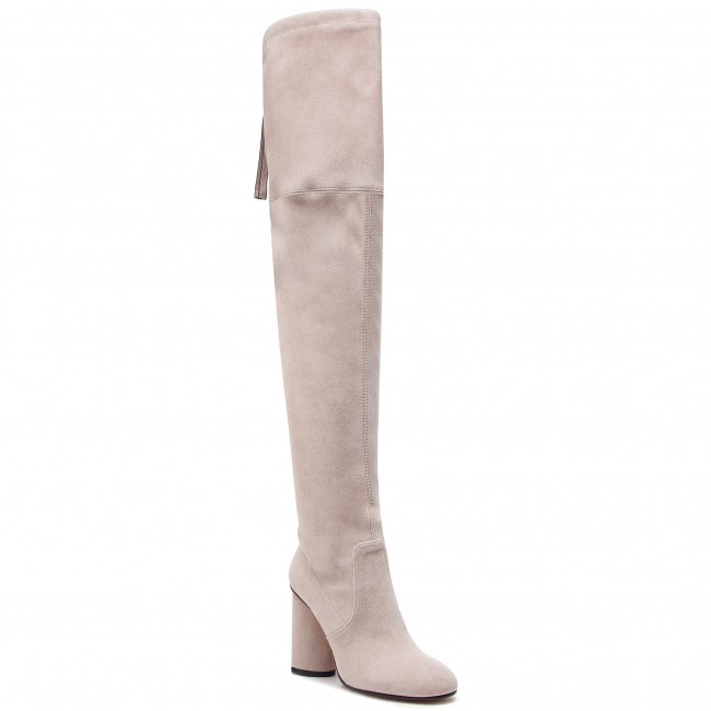 9a791e2856d Over-Knee Boots STUART WEITZMAN - Helena 95 YL96256 Pebble Suede ...