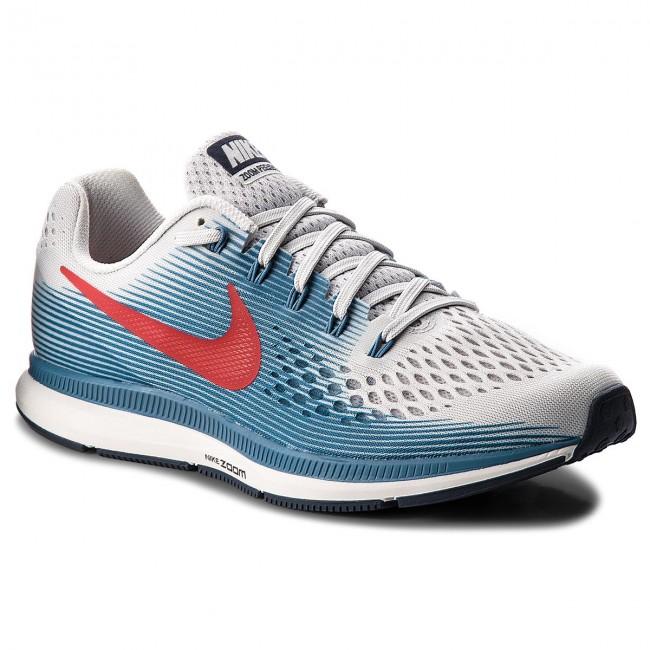 7c7c4f822f357 Shoes NIKE - Air Zoom Pegasus 34 880555 016 Vast Grey University Red ...