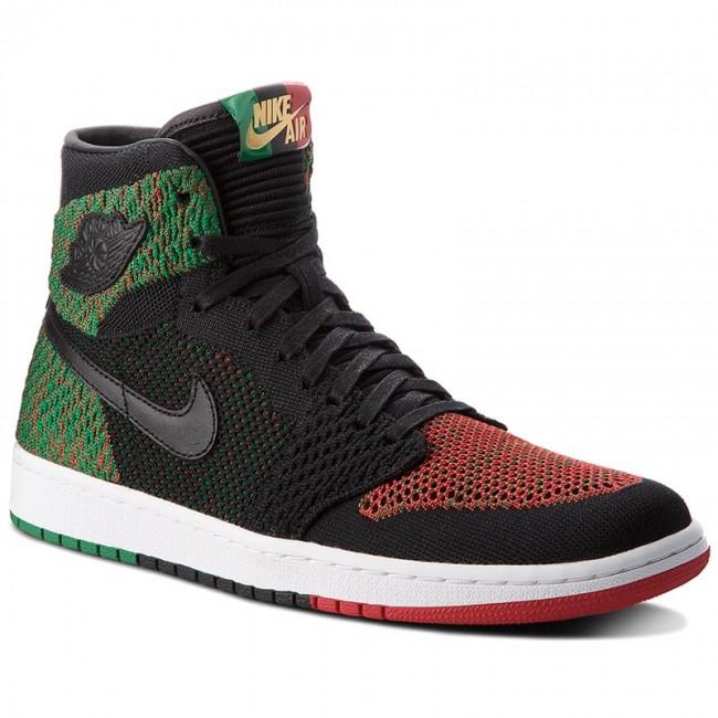 a1c17bd6a7342 Shoes NIKE - Air Jordan 1 Re Hi Flyknit Bhm AA2426 026 Black Black ...