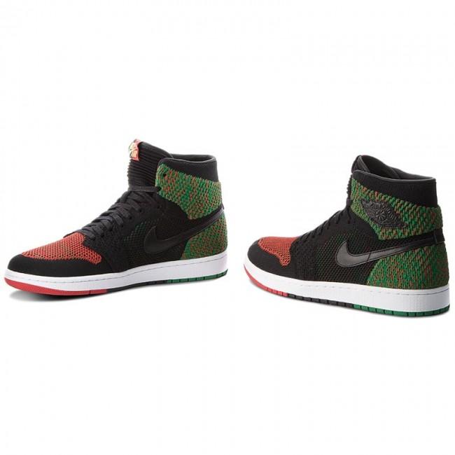 755a8f32bb2f Shoes NIKE - Air Jordan 1 Re Hi Flyknit Bhm AA2426 026 Black Black ...