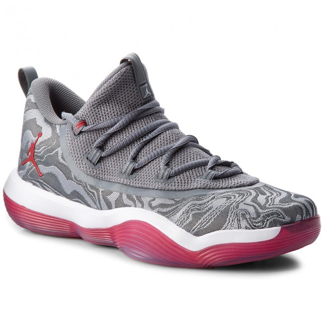 1807da49492687 Shoes NIKE. Jordan Super.Fly 2017 Low AA2547 004 Wolf Grey Gym Red Cool Grey