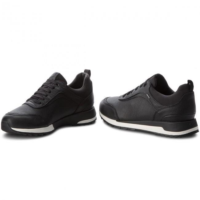 Sneakers GEOX - D Aneko B Abx A D843FA 046FU C9999 Black - Sneakers ... 6c41376e01c6