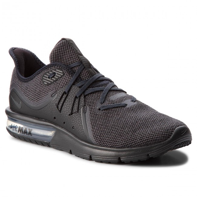 3472ec8bf0 Shoes NIKE - Air Max Sequent 3 921694 010 Black/Anthracite - Indoor ...