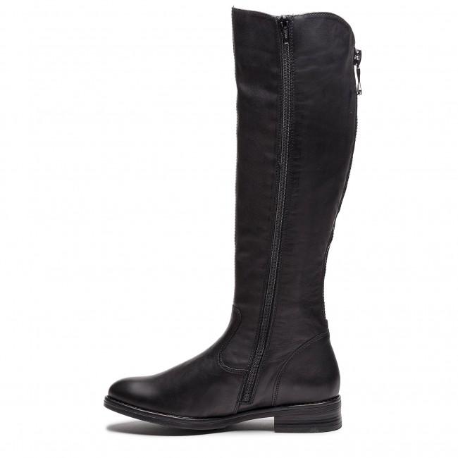 Knee High Boots REMONTE D8582 01 Schwarz