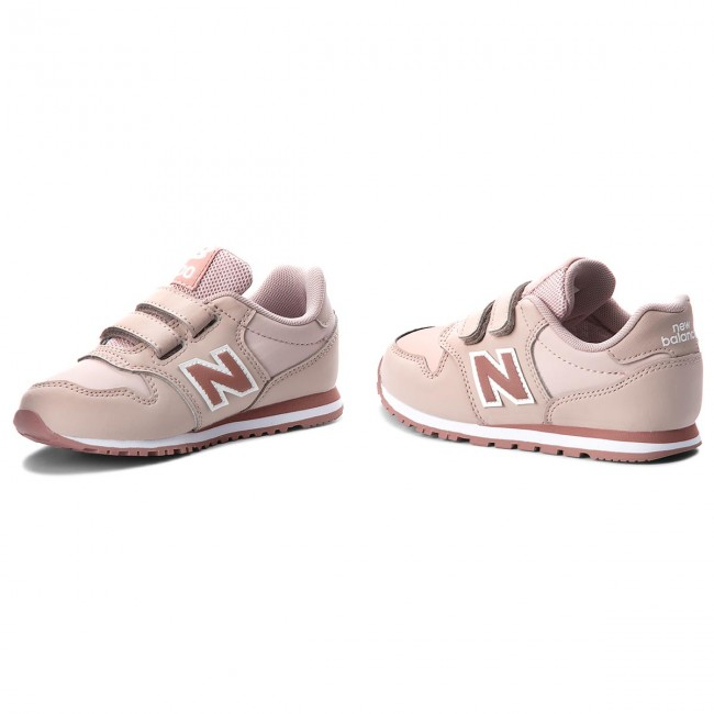Sneakers NEW BALANCE - KV500LPY Pink - Velcro - Low shoes - Girl ...