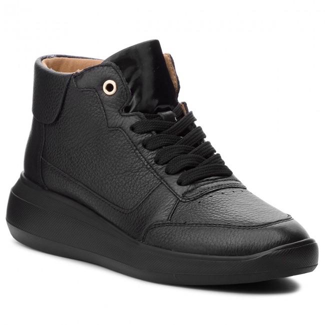 check out 10e66 62145 Sneakers GEOX. D Rubidia B D84APB 00046 C9999 Black
