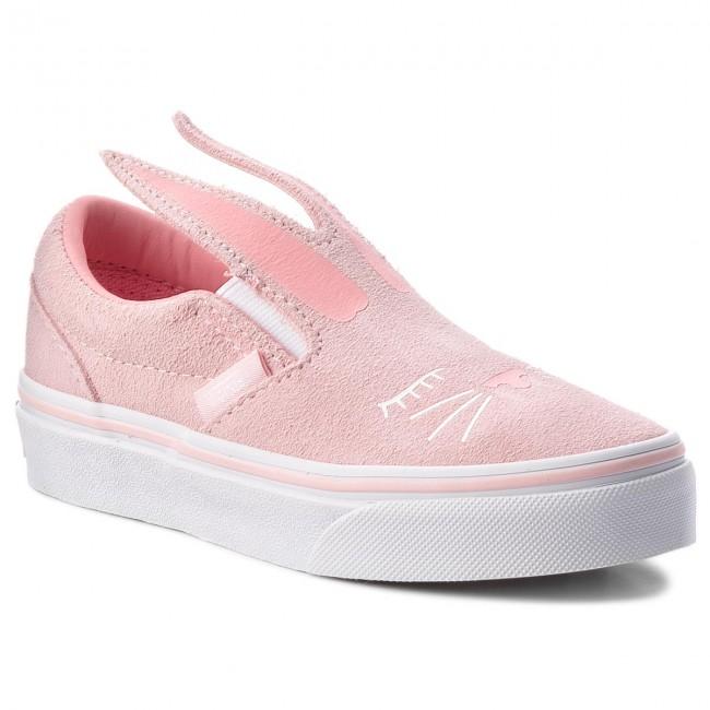 ce7b5404d5 Shoes VANS - Slip-On Bunny Cha VN0A3MVYQ1C Chalk Pink True White ...